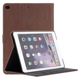 Luxe Book Case iPad 9.7 (2017) - Donkerbruin