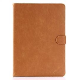 Luxe Book Case iPad (2018) / (2017) - Bruin