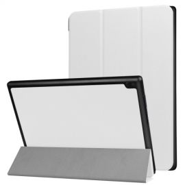 Tri-Fold Book Case Lenovo Tab 4 10 - Wit