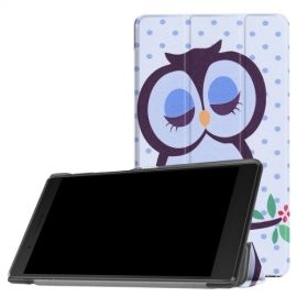 Tri-Fold Book Case Lenovo Tab 4 7 Essential - Groene Uil