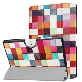 Tri-Fold Book Case Acer Iconia One 10 B3-A40 - Colour Squares