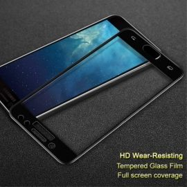 Full Cover Tempered Glass Samsung Galaxy J7 (2017) - Zwart