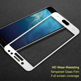 Full Cover Tempered Glass Samsung Galaxy J7 (2017) - Wit
