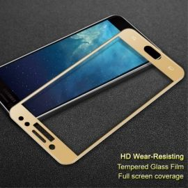 Full Cover Tempered Glass Samsung Galaxy J7 (2017) - Goud