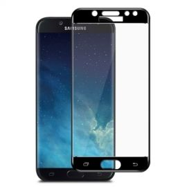 Full Cover Tempered Glass Samsung Galaxy J5 (2017) - Zwart