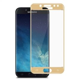 Full Cover Tempered Glass Samsung Galaxy J5 (2017) - Goud