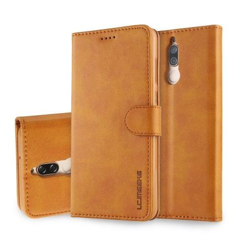 Luxe Book Case Huawei Mate 10 Lite - Bruin