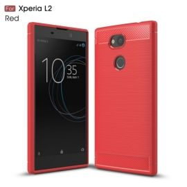 Armor Brushed TPU Case Sony Xperia L2 - Rood