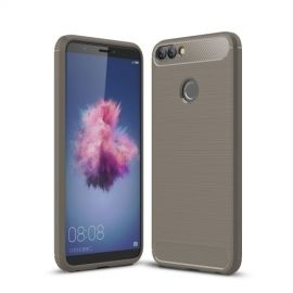 Armor Brushed TPU Case Huawei P Smart - Grijs