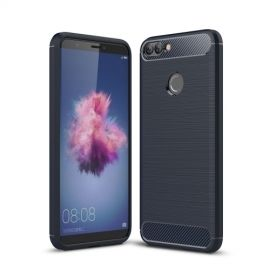 Armor Brushed TPU Case Huawei P Smart - Blauw