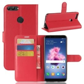 Book Case Hoesje Huawei P Smart - Rood