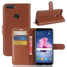Book Case Hoesje Huawei P Smart - Bruin