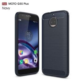 Armor Brushed TPU Case Motorola Moto G5S Plus - Blauw