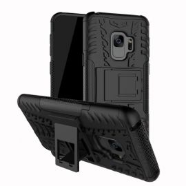 Kickstand Hoesje Samsung Galaxy S9 Plus - Zwart