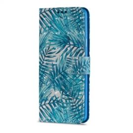Shiny Book Case Samsung Galaxy S9 Plus - Leaves