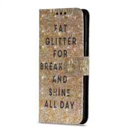 Shiny Book Case Samsung Galaxy S9 - Glitter