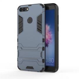 Armor Hybrid Kickstand Case Huawei P Smart - Donkerblauw
