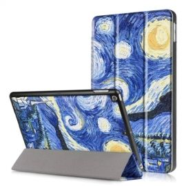 Tri-Fold Smart Case Apple iPad (2018) / (2017) - Sterrennacht