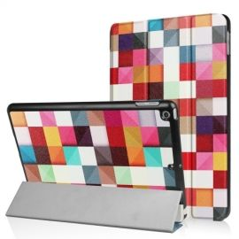 Tri-Fold Smart Case Apple iPad (2018) / (2017) - Colour Squares