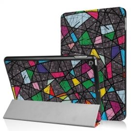 Tri-Fold Smart Case Apple iPad (2018) / (2017) - GeoPattern