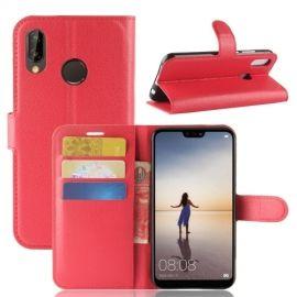 Book Case Hoesje Huawei P20 Lite - Rood