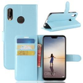 Book Case Hoesje Huawei P20 Lite - Lichtblauw