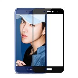 Full-Cover Tempered Glass Huawei P8 Lite (2017) - Zwart