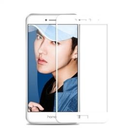 Full-Cover Tempered Glass Huawei P8 Lite (2017) - Wit