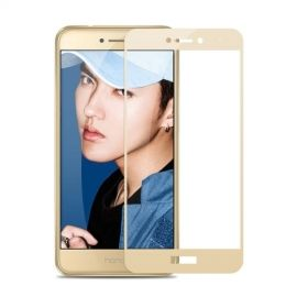 Full-Cover Tempered Glass Huawei P8 Lite (2017) - Goud