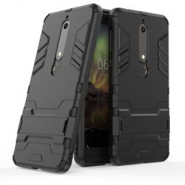 Armor Kickstand Case Nokia 6.1 (2018) - Zwart