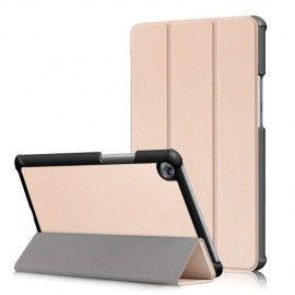 Tri-Fold Book Case Huawei Mediapad M5 8.4 - Goud