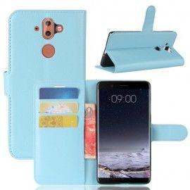 Book Case Hoesje Nokia 8 Sirocco - Lichtblauw