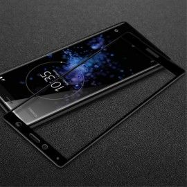Full-Cover Tempered Glass Sony Xperia XZ2 Compact - Zwart