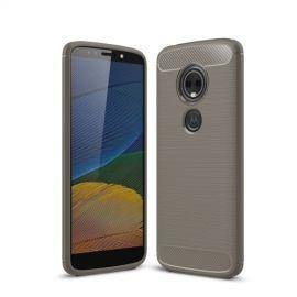 Armor Brushed TPU Hoesje Motorola Moto G6 Play / E5 - Grijs