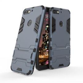 Armor Kickstand Case Huawei Y7 (2018) - Donkerblauw
