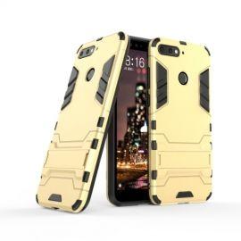 Armor Kickstand Case Huawei Y6 (2018) - Goud
