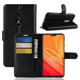 Book Case Hoesje OnePlus 6 - Zwart