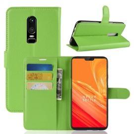 Book Case Hoesje OnePlus 6 - Groen
