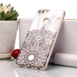Marmer Design TPU Hoesje Huawei P Smart