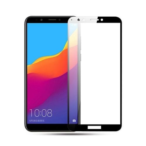Full-Cover Tempered Glass Huawei Y6 (2018) - Zwart