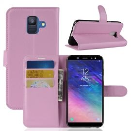 Book Case Hoesje Samsung Galaxy A6 (2018) - Pink