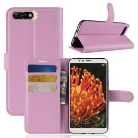 Book Case Hoesje Huawei Y6 (2018) - Pink