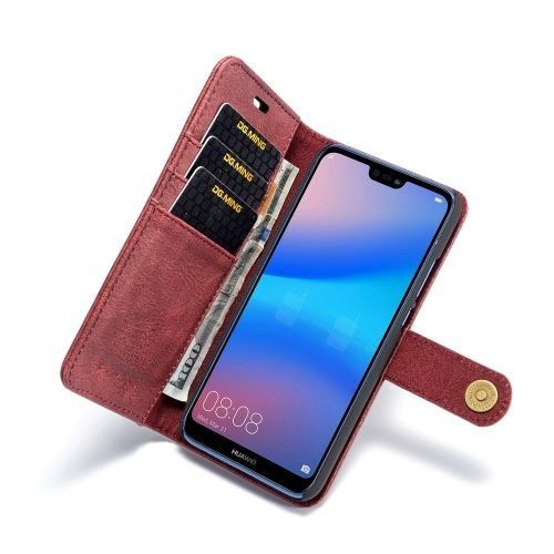 2-in-1 Book Case Huawei P20 Lite Hoesje - Rood