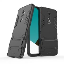 Armor Kickstand OnePlus 6 Hoesje - Zwart