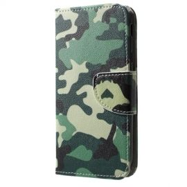 Book Case Samsung Galaxy J3 (2017) Hoesje - Camouflage