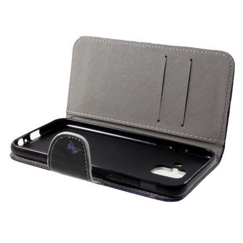 Book Case Samsung Galaxy A6 (2018) Hoesje - Vlinders