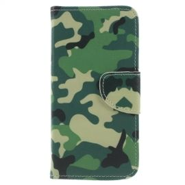 Book Case Samsung Galaxy J6 (2018) Hoesje - Camouflage