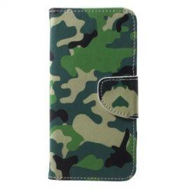 Book Case Huawei P20 Lite Hoesje - Camouflage