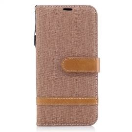 Denim Book Case Samsung Galaxy J5 (2017) Hoesje - Khaki