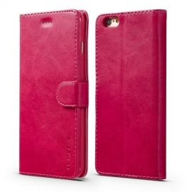 Luxe Book Case iPhone 6 / 6s Hoesje - Roze